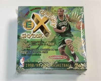 6-13-21 Sunday: Factory Sealed High End Sports Cards, Collectibles, Authentic Jordan Autograph
