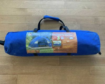 3 person tent in excellent condition