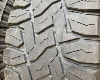 FS 35x12.50x20 set of 5 QUALITY Tires that ride GREAT!