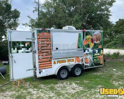 2020 Diamond Cargo Food Concession Trailer/Used Mobile Food Unit