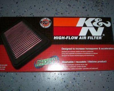 K&n Replacement Air Filter Kawasaki Zx6r Zx6rr 03-04