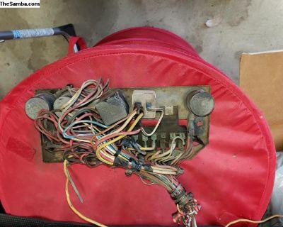 1972 Porsche 914 Engine Relay box with wires