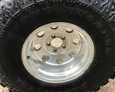 Mud tire for a Ford Ranger or Jeep Cherokee