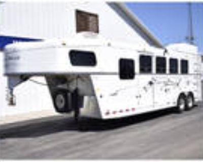 2005 Trails West 4 Horse Slant Trailer with Dressing Room (Selling AS IS)