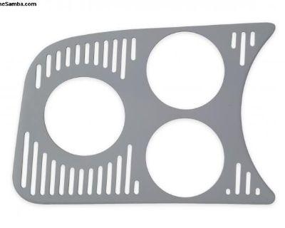 New Accessory Left Triple 52mm Gauge Panel
