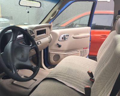 1997 GMC Sierra 2500 with cargo box