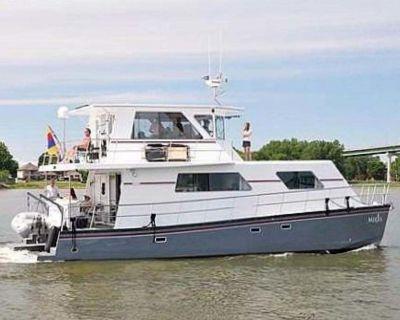 2014 50' Custom Artisanal Power Catamaran