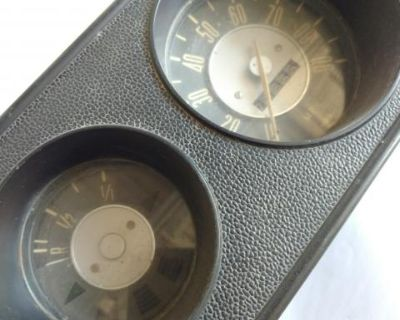 Gauge cluster early bay bus speedometer
