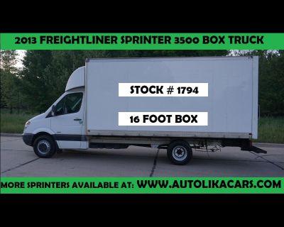 2013 Freightliner Sprinter 3500 BOX TRUCK