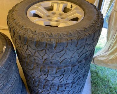 rims and tires 275/70/18