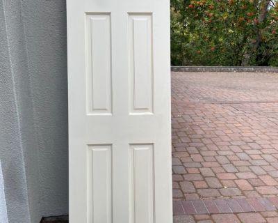 6 panels solid wood interior doors