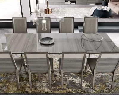 Modern Design Iris Large Dining Table by ALF Group