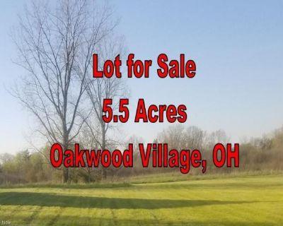 Plot For Sale In Oakwood Village, Ohio