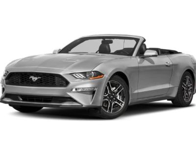 Pre-Owned 2020 Ford Mustang EcoBoost Premium RWD Convertible