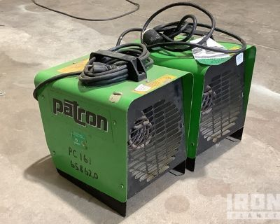 Lot of (2) Patron E1.5 Space Heaters