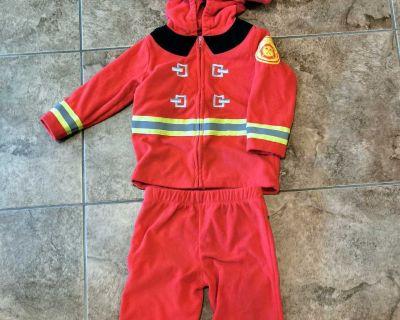 Toddler Firefighter Halloween Costume