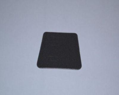 Porsche 914-6/914/911/912 Rear View Mirror Adhesive Pad Black/grey Color New
