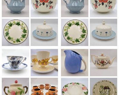 Fabulous Collectable Antique China & Stoneware Collections