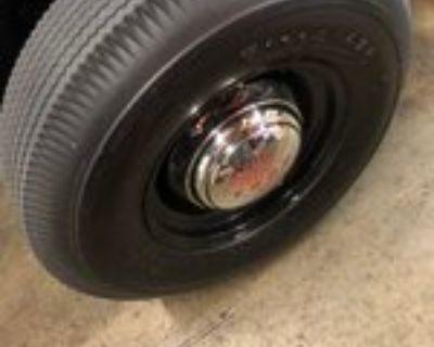 PAIR 820-15 Firestone Deluxe Champion Blackwall tires