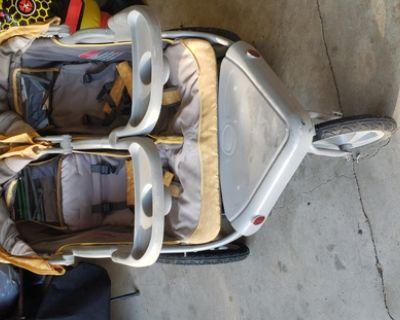 Graco Double Stroller Side by Side