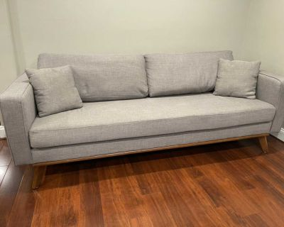 *Delivery Available* CapsuleHome Modern Gray Couch
