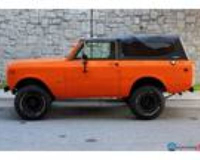 1978 International Scout II Rioll Cage w/Soft Top