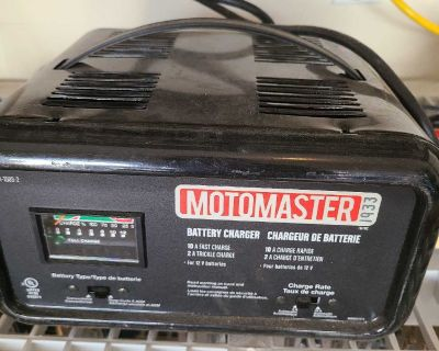 Moto master battery charger