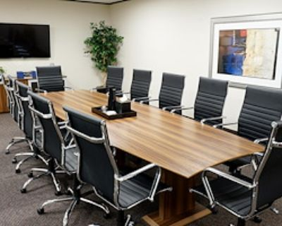Private Meeting Room for 12 at Executive Workspace @ 777 Main