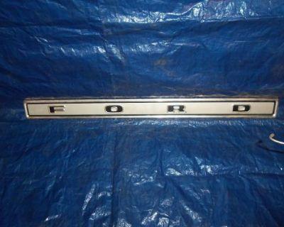 Ford Truck, 73-79 Tailgate Name Plate, Styleside, Aluminum