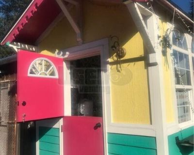 8' x 10' Cute Cottage Style Street Food Concession Trailer