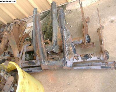 VW Bug Ghia rear torsion housing 68 and older