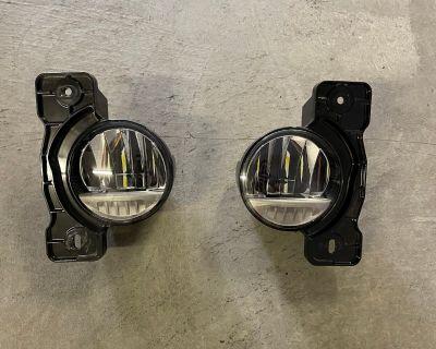 California - LED Fog Lights for Rubicon Steel Bumper