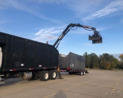 2007 Sterling lt9500 with 2017 Pitts Trailer Grapple Truck