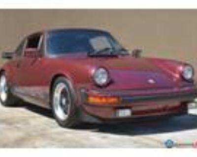 1983 Porsche 911SC Coupe Ruby Red Metallic