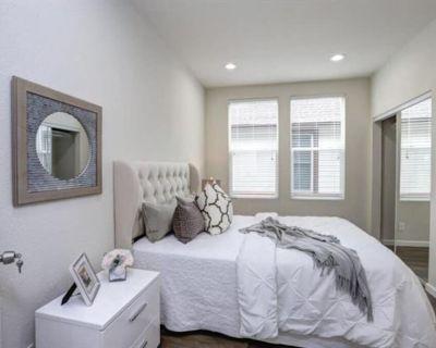 Master Bedroom in Modern SJ Sharks Themed Home - Horace Mann