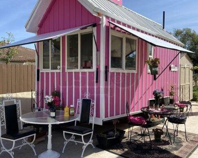 2012 - 8' x 16 Unique Beverage / Pink Food Concession Trailer