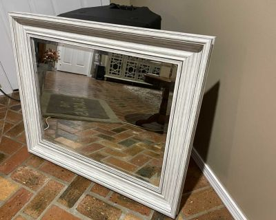 Sheffield home white mirror29 by 35