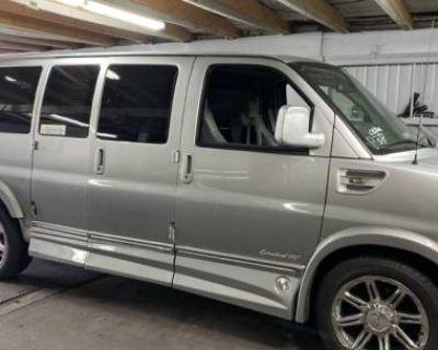 2013 GMC Savana Cargo Van Upfitter