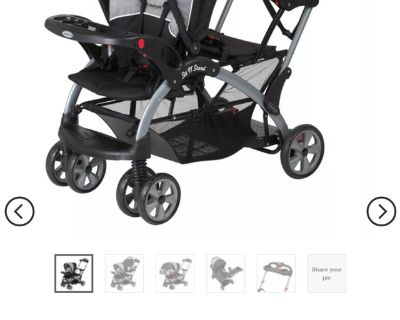 Baby trend sit-n-stand ultra double stroller