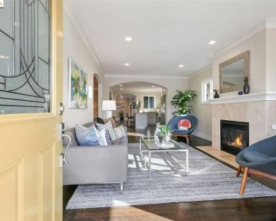 Entire Home With Fenced Backyard & Veggie Garden and Fire Pit! - Southwest Berkeley