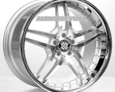 """19"""" Emr2 Wheels And Tires Rims Fits Mercedes 250 300 400 550 350 / Fits Audi A3"""