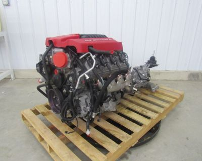 14 CAMARO ZL1 6.2L LSA SUPERCHARGED ENGINE W/TR6060 40K MILE