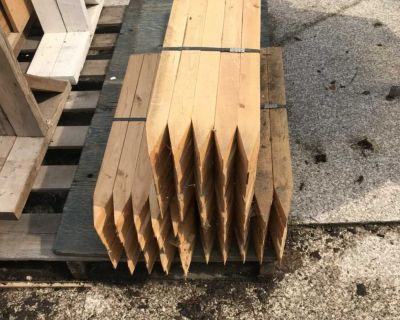 2x2 stakes