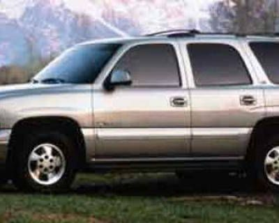 Used 2002 Chevrolet Tahoe Police 4dr