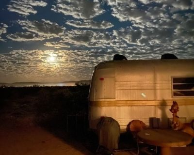 The Nugget Oasis: a Vintage Camper Desert Compound, JoshuaTree, CA