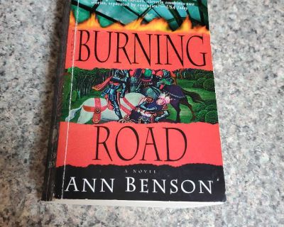 ANN BENSON, BURNING ROAD, EXCELLENT CONDITION, SMOKE FREE HOUSE