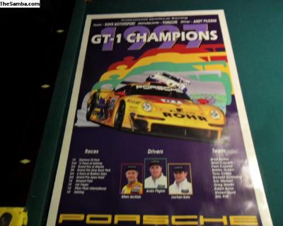 GT1 Champions poster