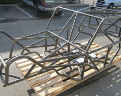 """""""alpine X2"""" 2-seat Rock Crawler Buggy Chassis 1.75"""" Dom / Mig Welded Chassis"""