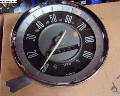 Ghia Speedometer 68-71