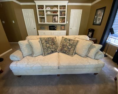 Couch, 2 chairs, 2 ottomans